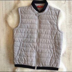 Gray Padded vest - Zara Man